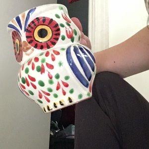 Gorgeous Anthropologie hand painted mug , $ neg :)